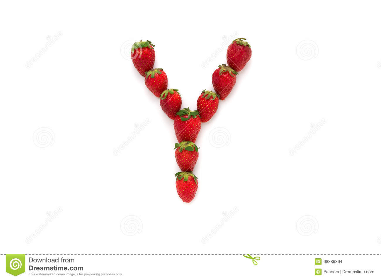 Alphabet y letter from group of strawberries are arranged top download alphabet y letter from group of strawberries are arranged top view isolated altavistaventures Images
