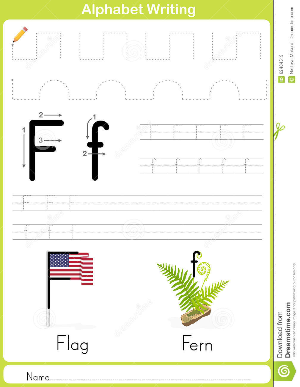 Alphabet A-Z Tracing Worksheet, Exercises for kids - A4 paper ready to ...