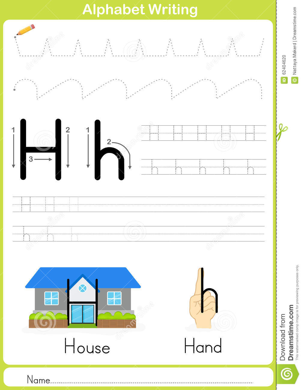 Tracing paper for kids