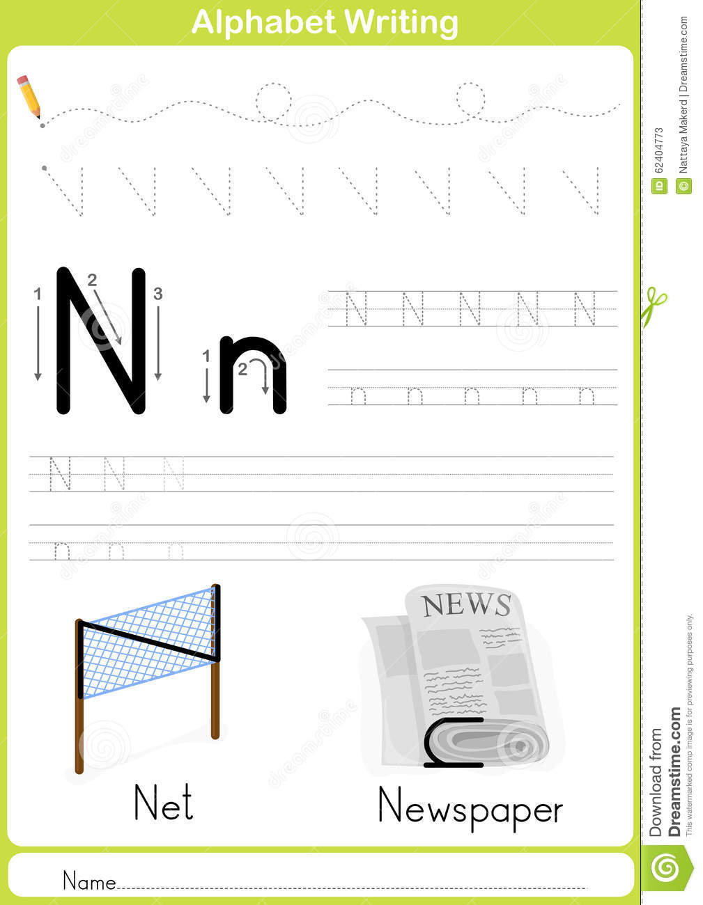 alphabet writing paper Free, printable lined writing paper for kids over 1,500 ela worksheet lesson activities for class or home use click to get started.
