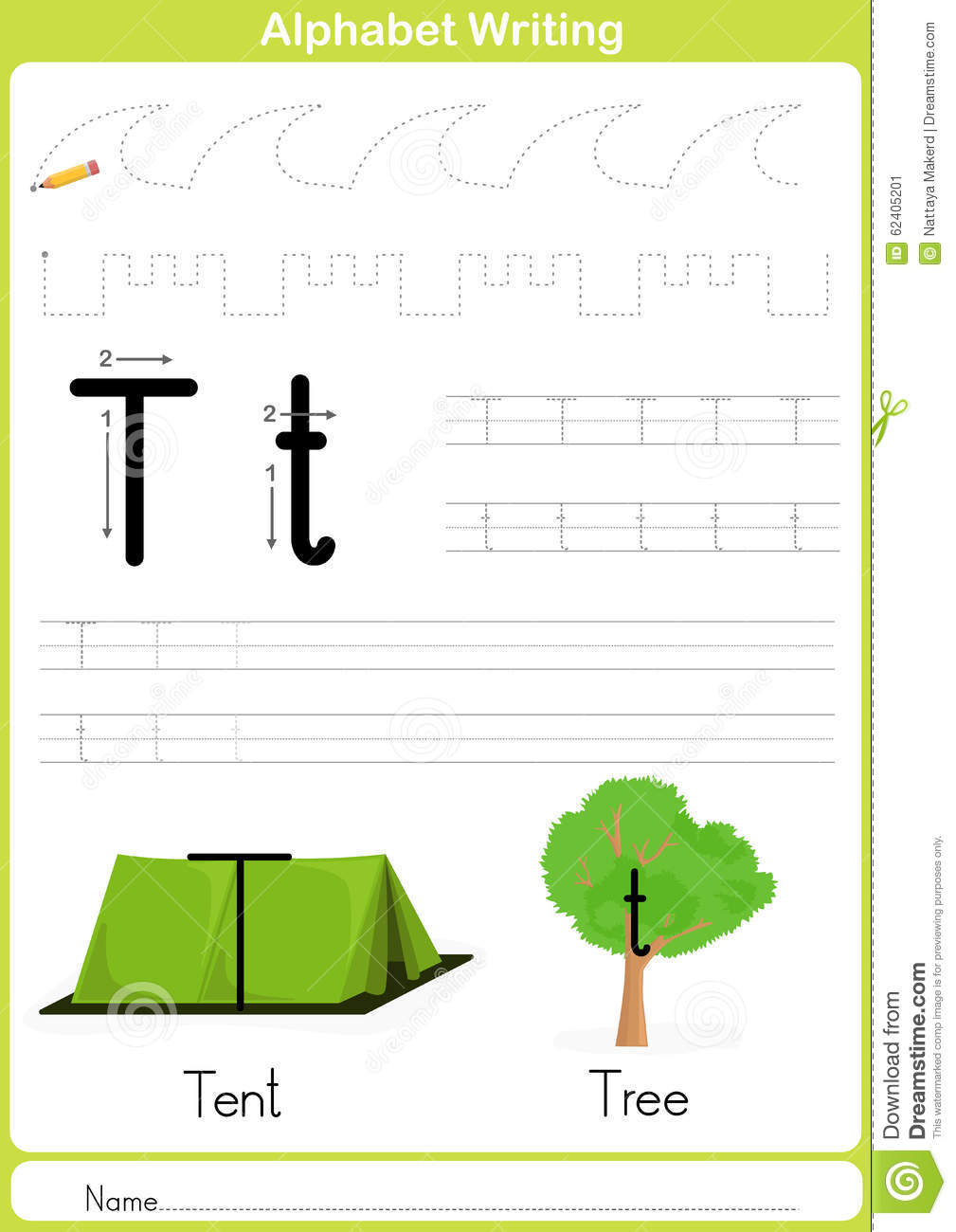 alphabet a z tracing worksheet exercises for kids a4 paper