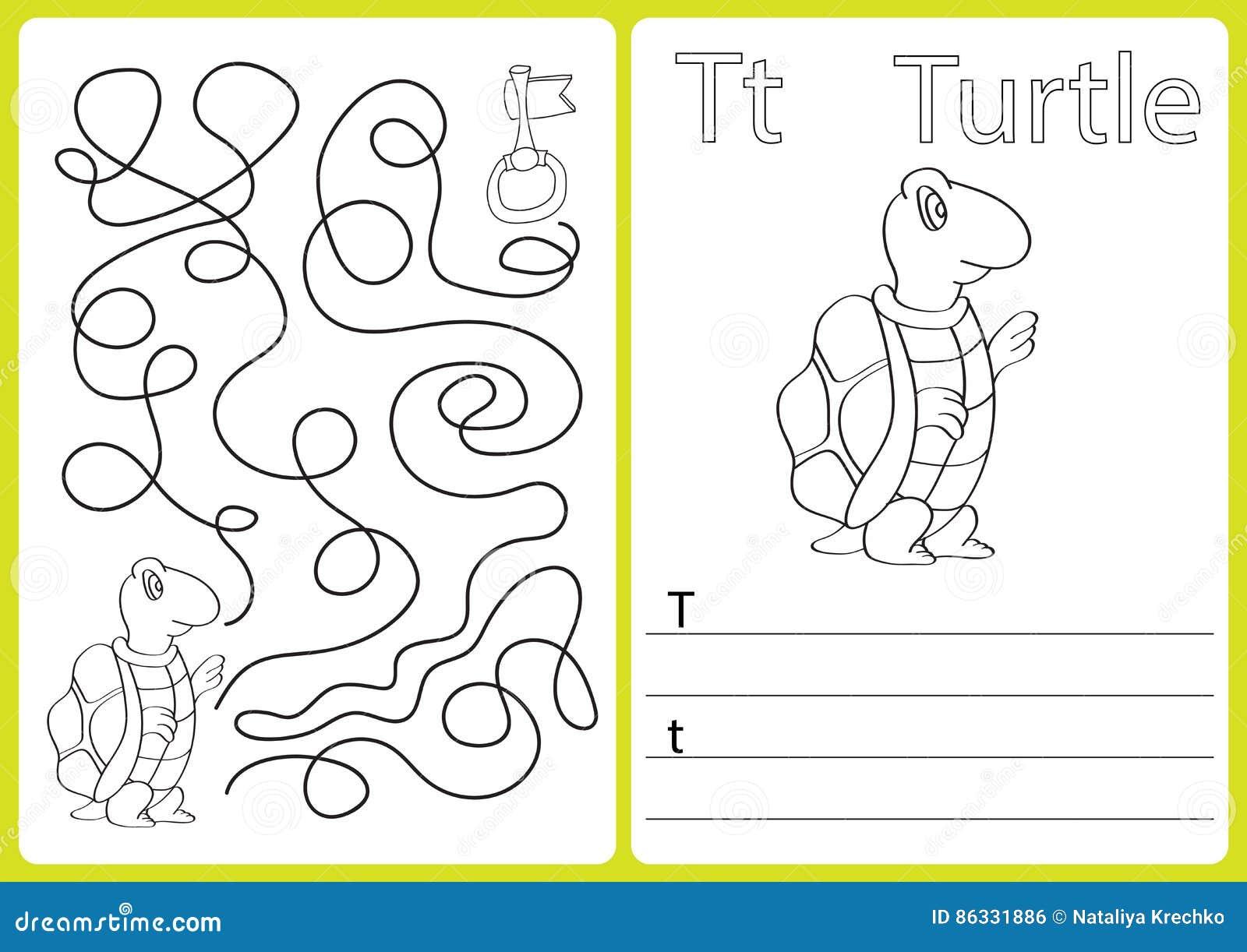 Alphabet A-Z - Verwirren Sie Arbeitsblatt, Übungen Für Kinder ...