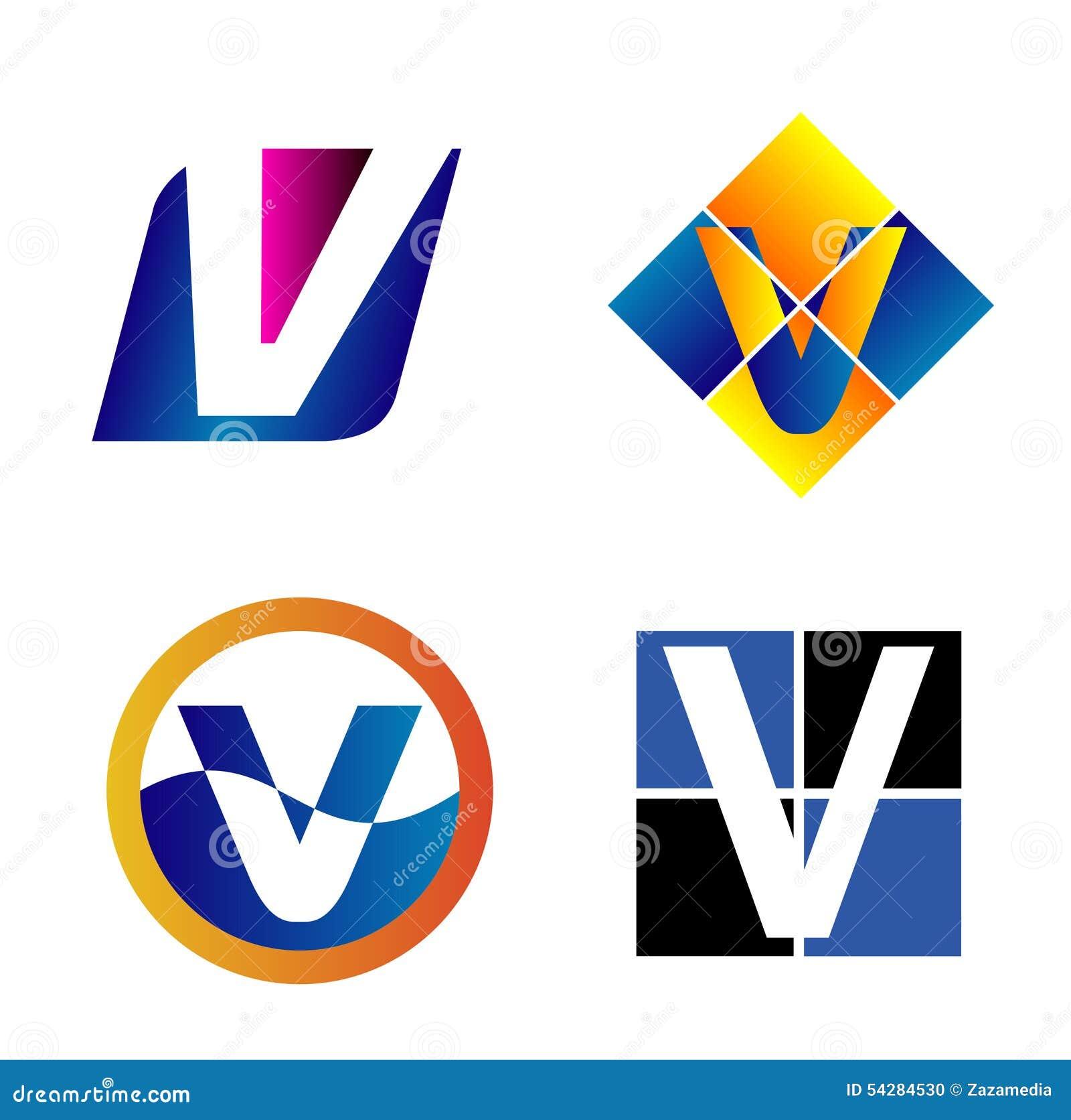 alphabetical logo design concepts letter v stock vector image alphabetical logo design concepts letter v