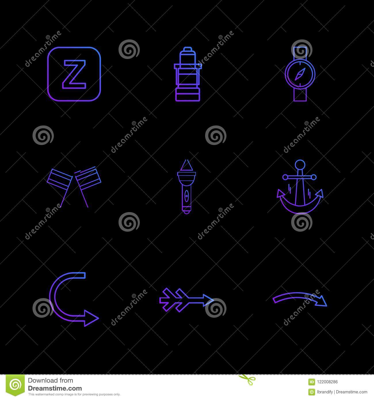 alphabets , sea , food , picnic , summer , eps icons set vector