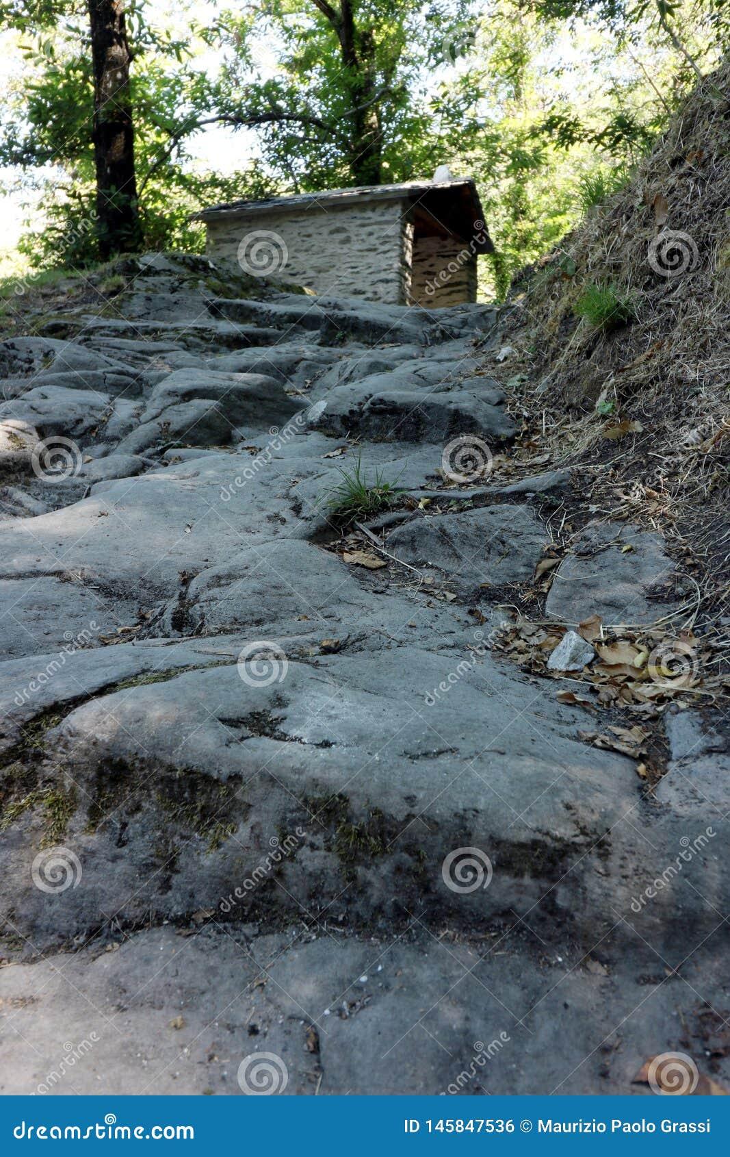 Alpi Apuane, Forte dei Marmi, Lucca, Tosc?nia, It?lia Leadin do trajeto