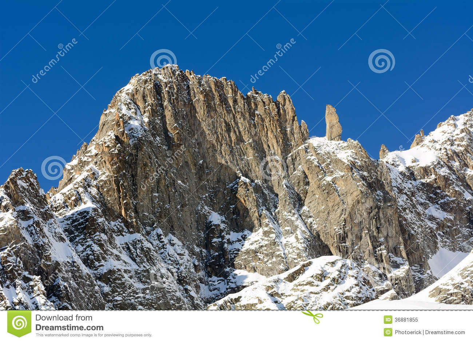 Download Alpi Della Catena Di Mont Blanc Immagine Stock - Immagine di blanc, france: 36881855
