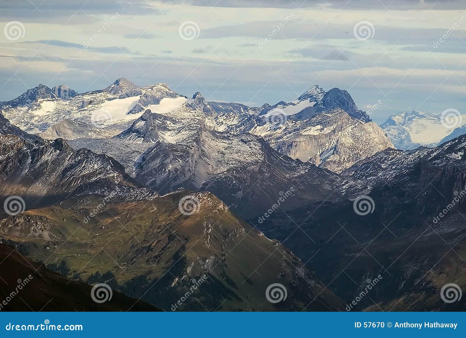 Alpiene bergen