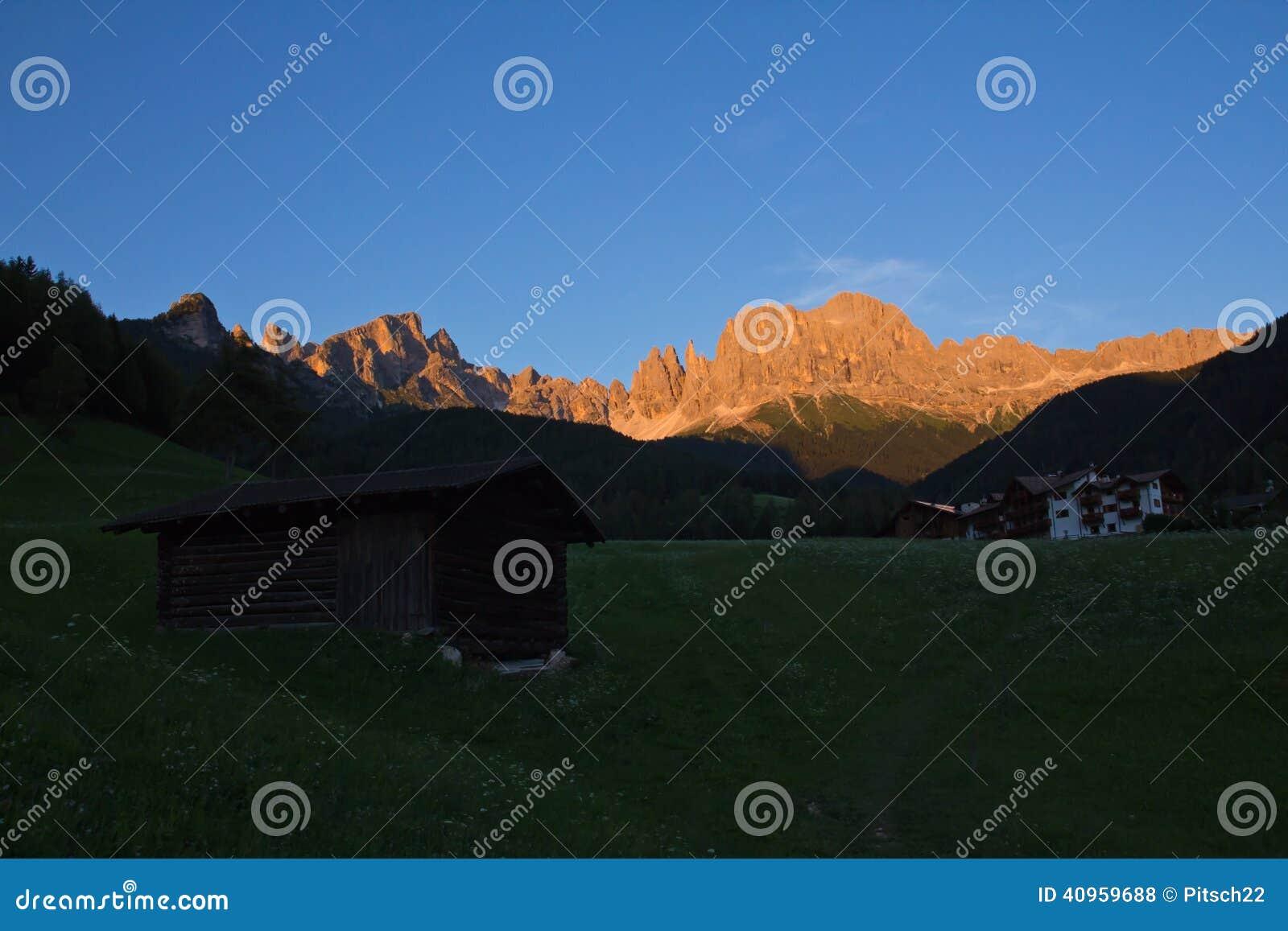 Alpiene gloed