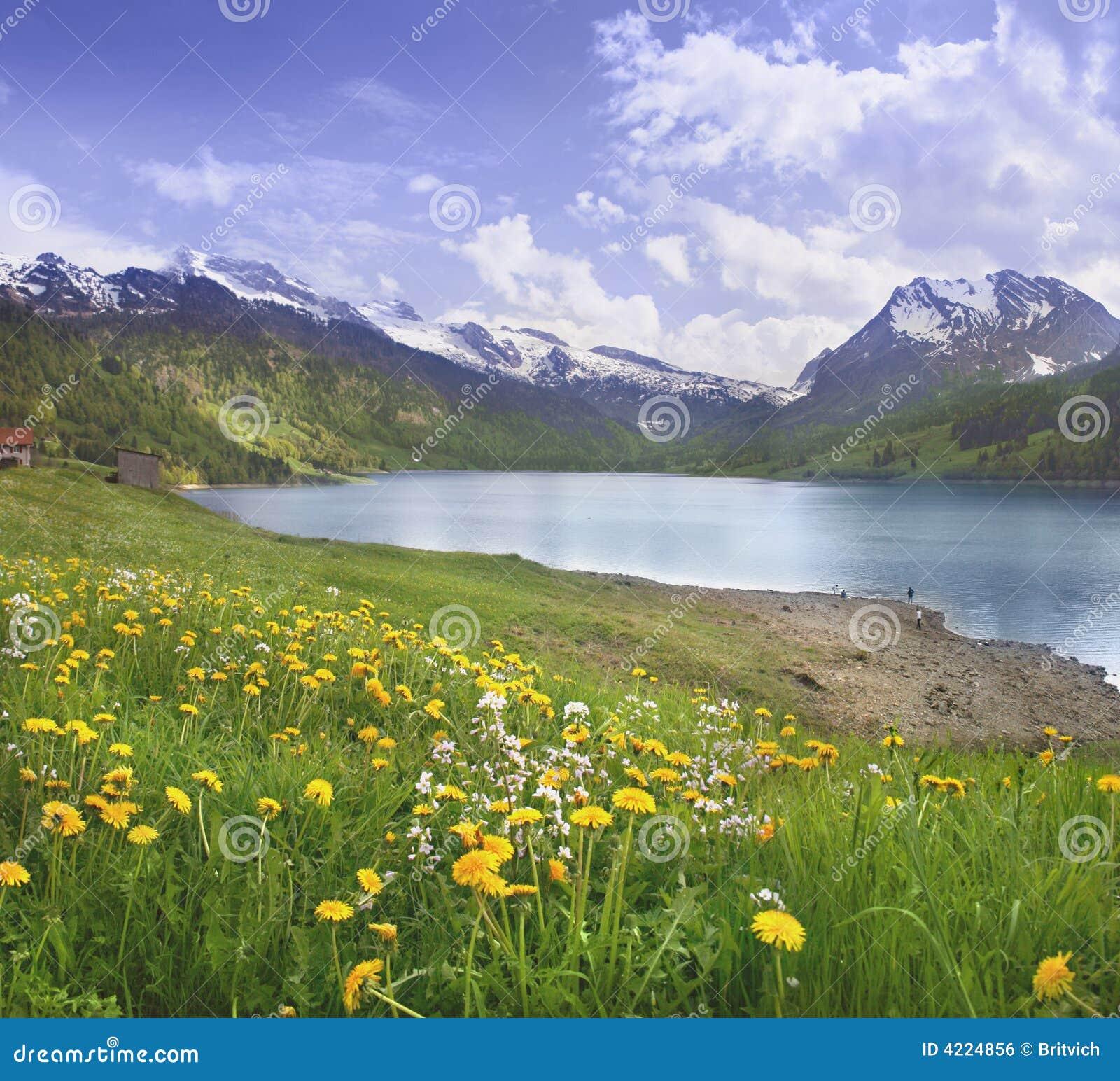 Alpiene scène