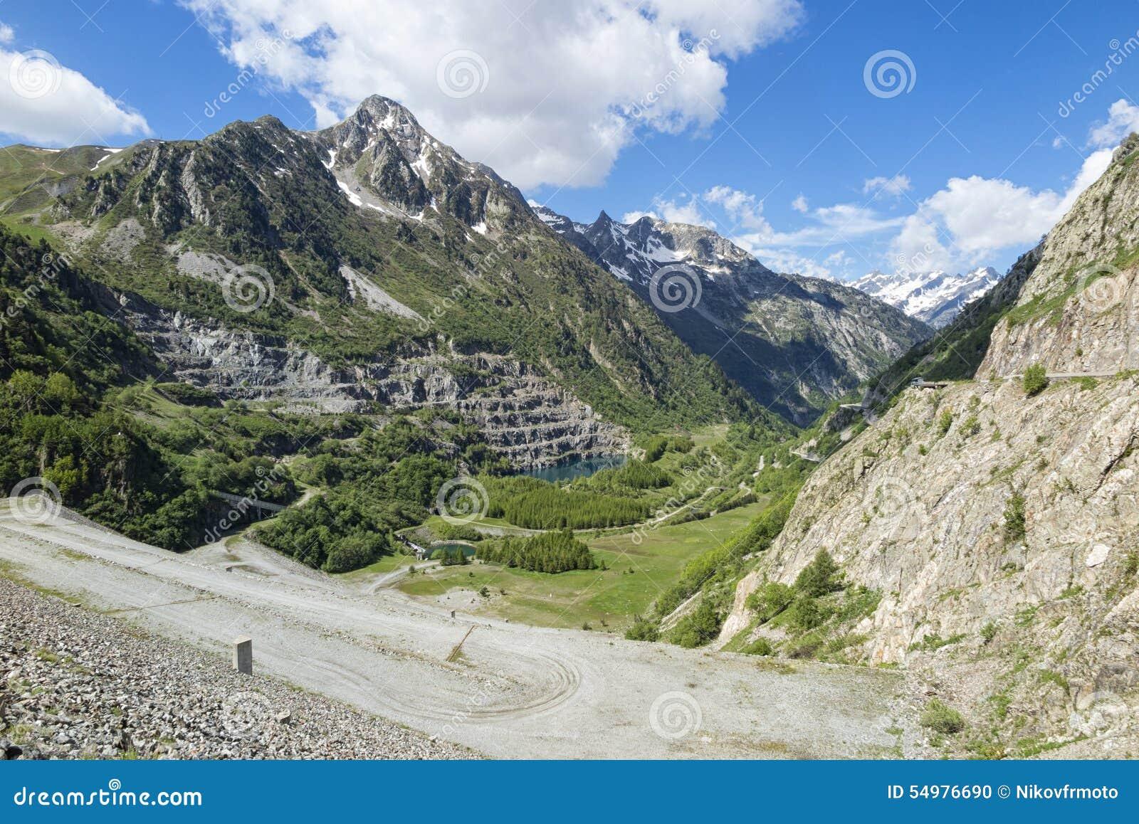 Alpin panorama