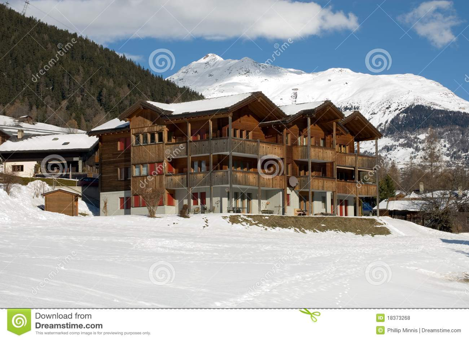 Alpine House Royalty Free Stock Photos Image 18373268