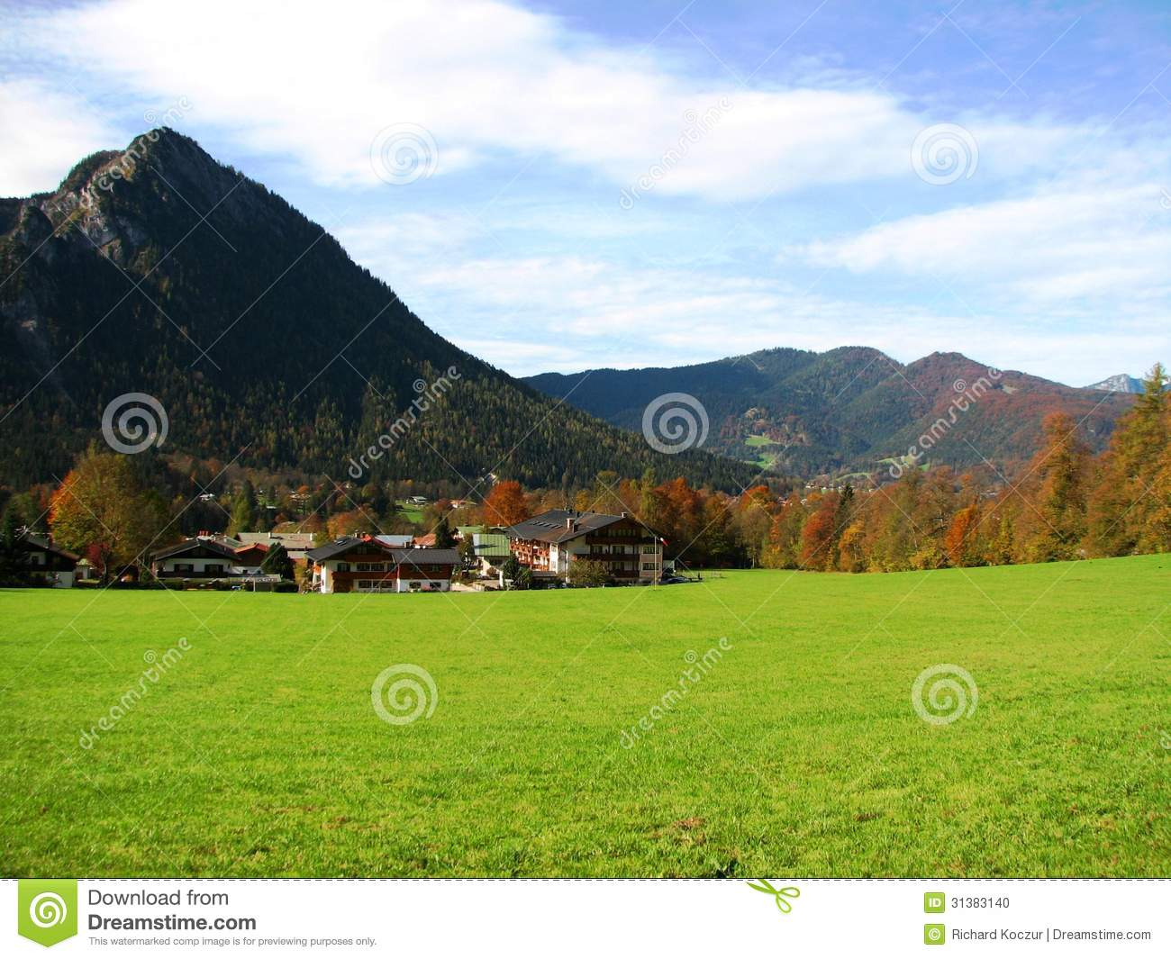 Alpine landscape stock photo image 31383140 for Nearby landscapers