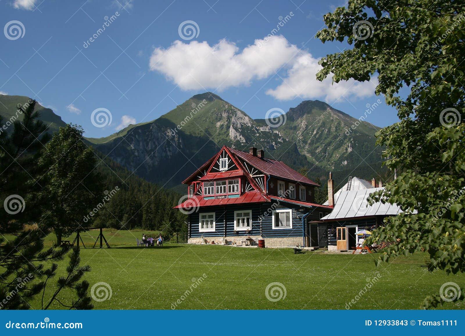 Alpines Häuschen
