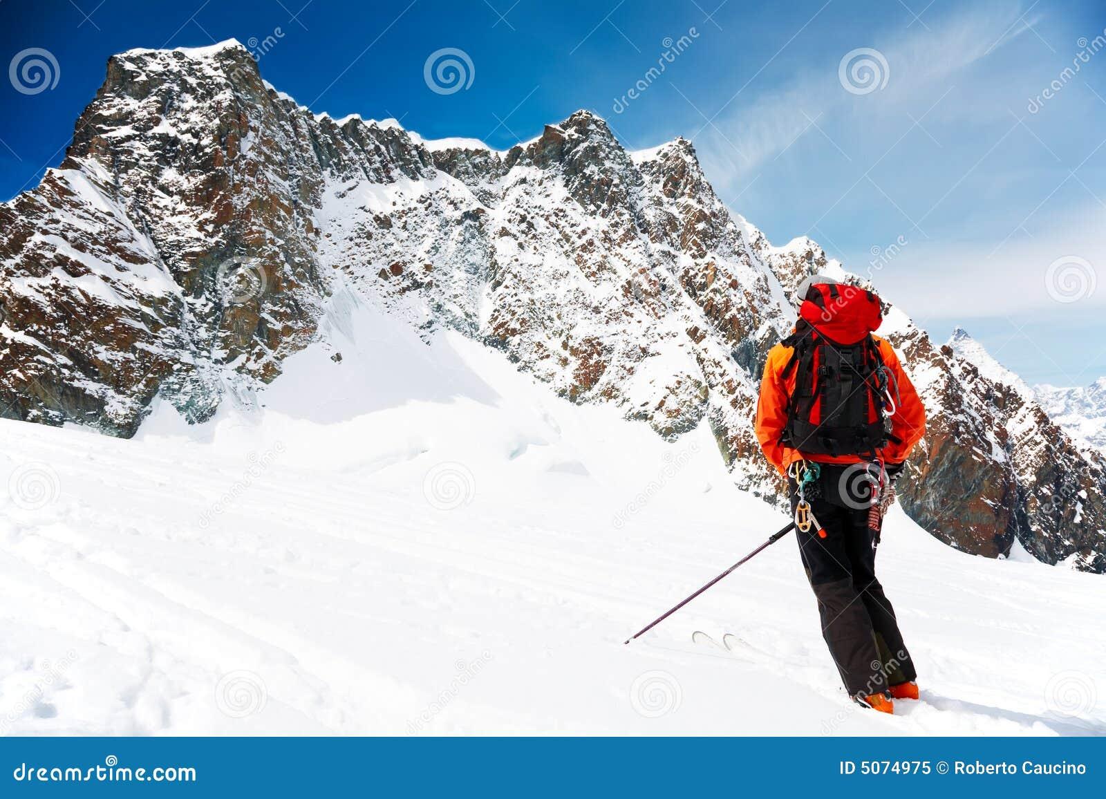 Alpiniste de ski