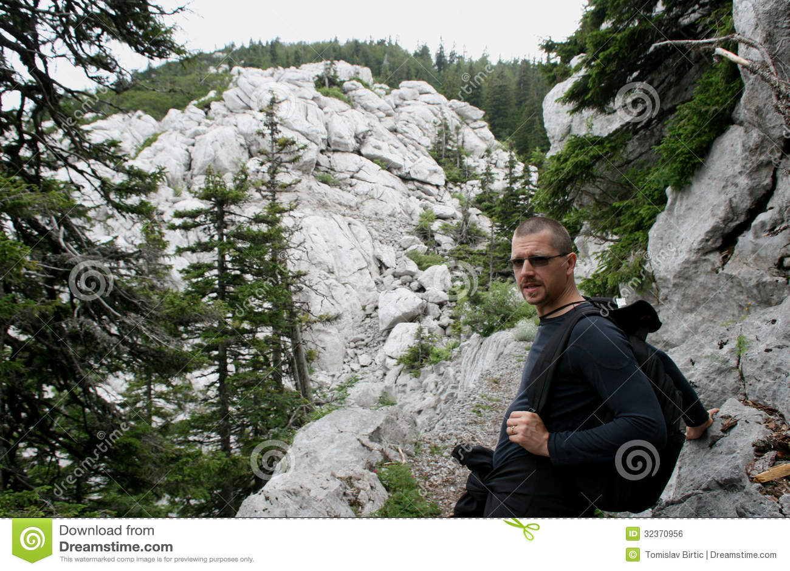 Alpiniste/pause