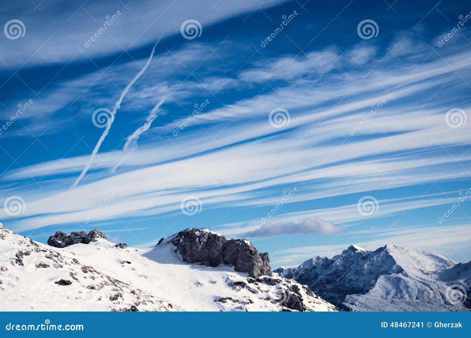 landscape sky clouds snow - photo #7