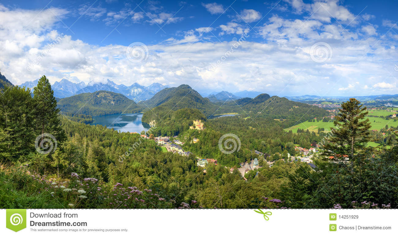 Alps Germany landscape