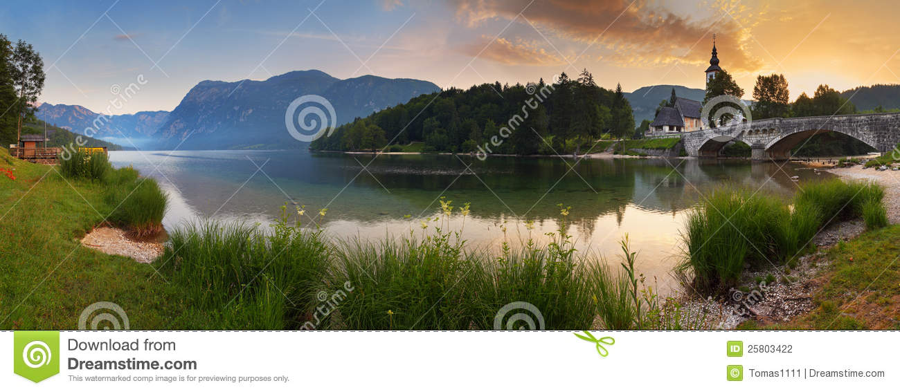 lake in alps stock photography 88028540