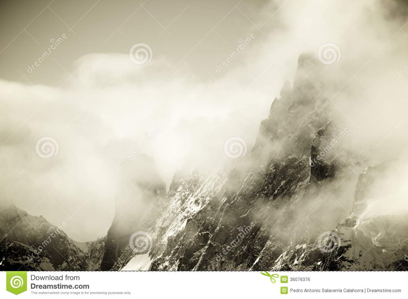 Download Alps stock photo. Image of hiking, alps, mist, ancient - 36076376