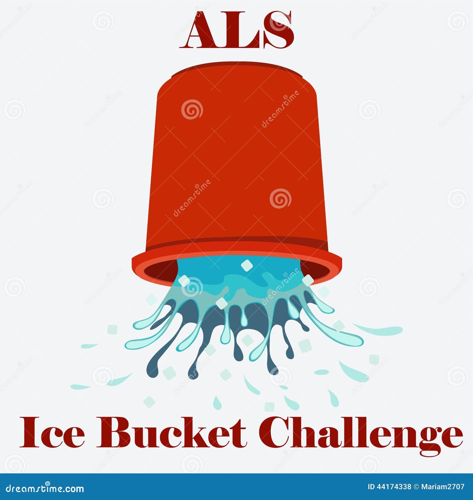 ALS冰桶挑战概念传染媒介