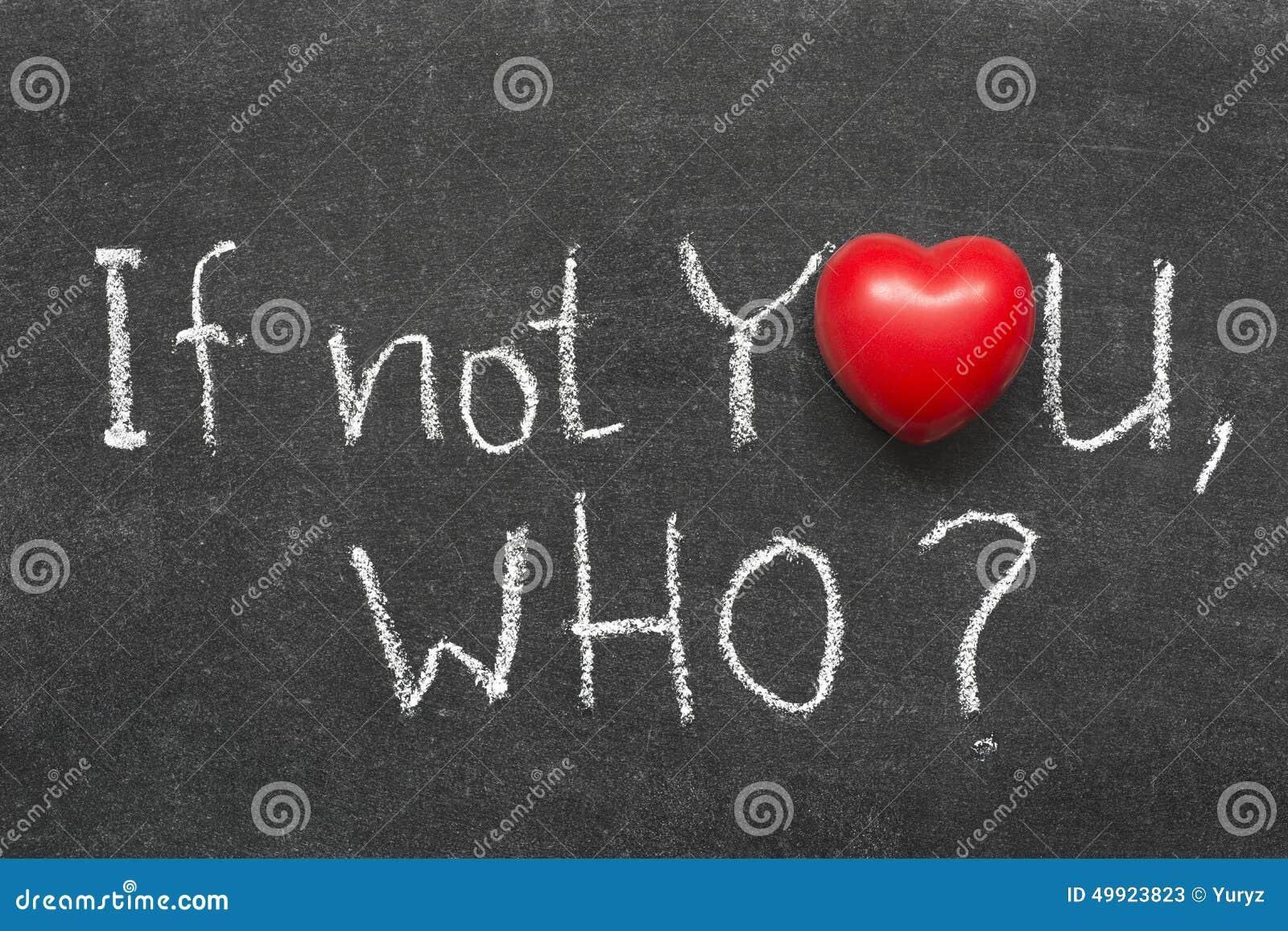 Als niet u