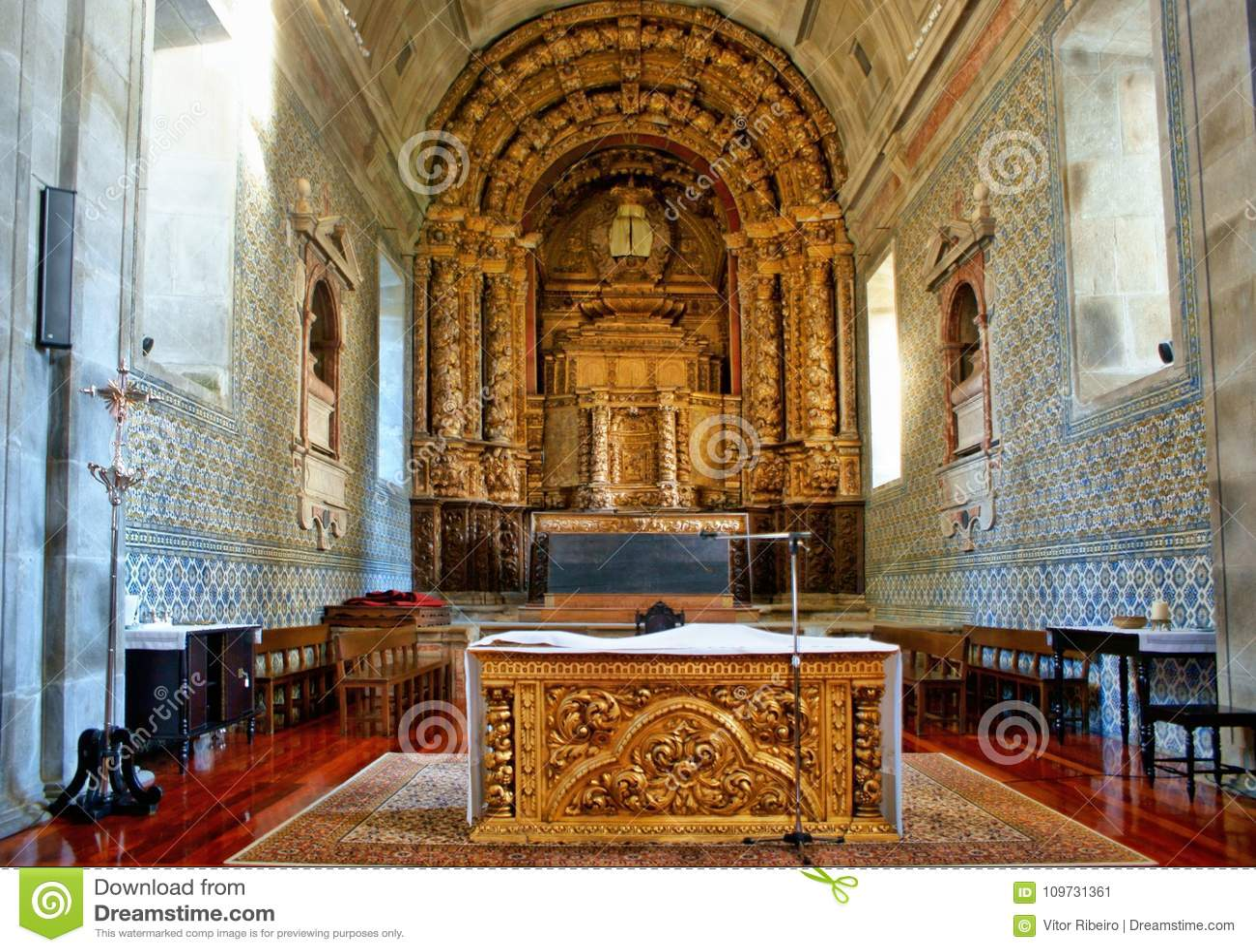 Altar church of Loios in Santa Maria da Feira