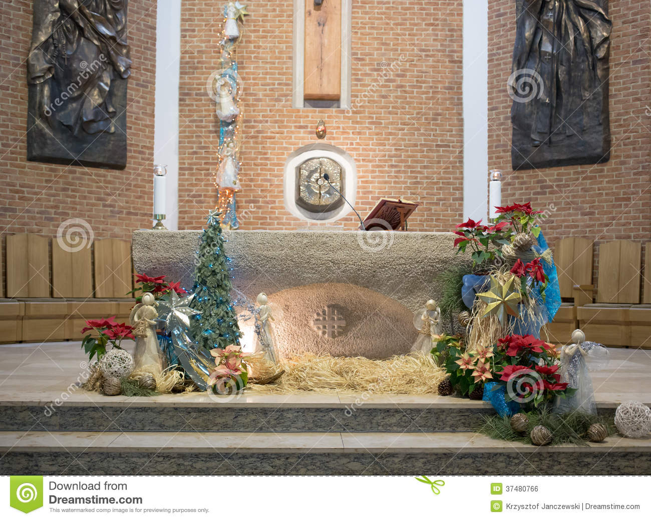 The Altar Decorated Editorial Photo Image Of Catechism