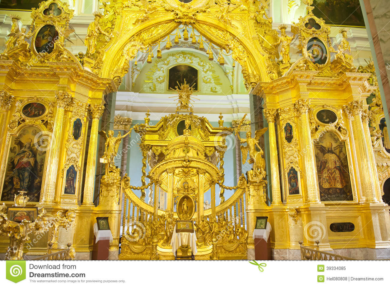 Altar Peter e Paul Cathedral, St Petersburg