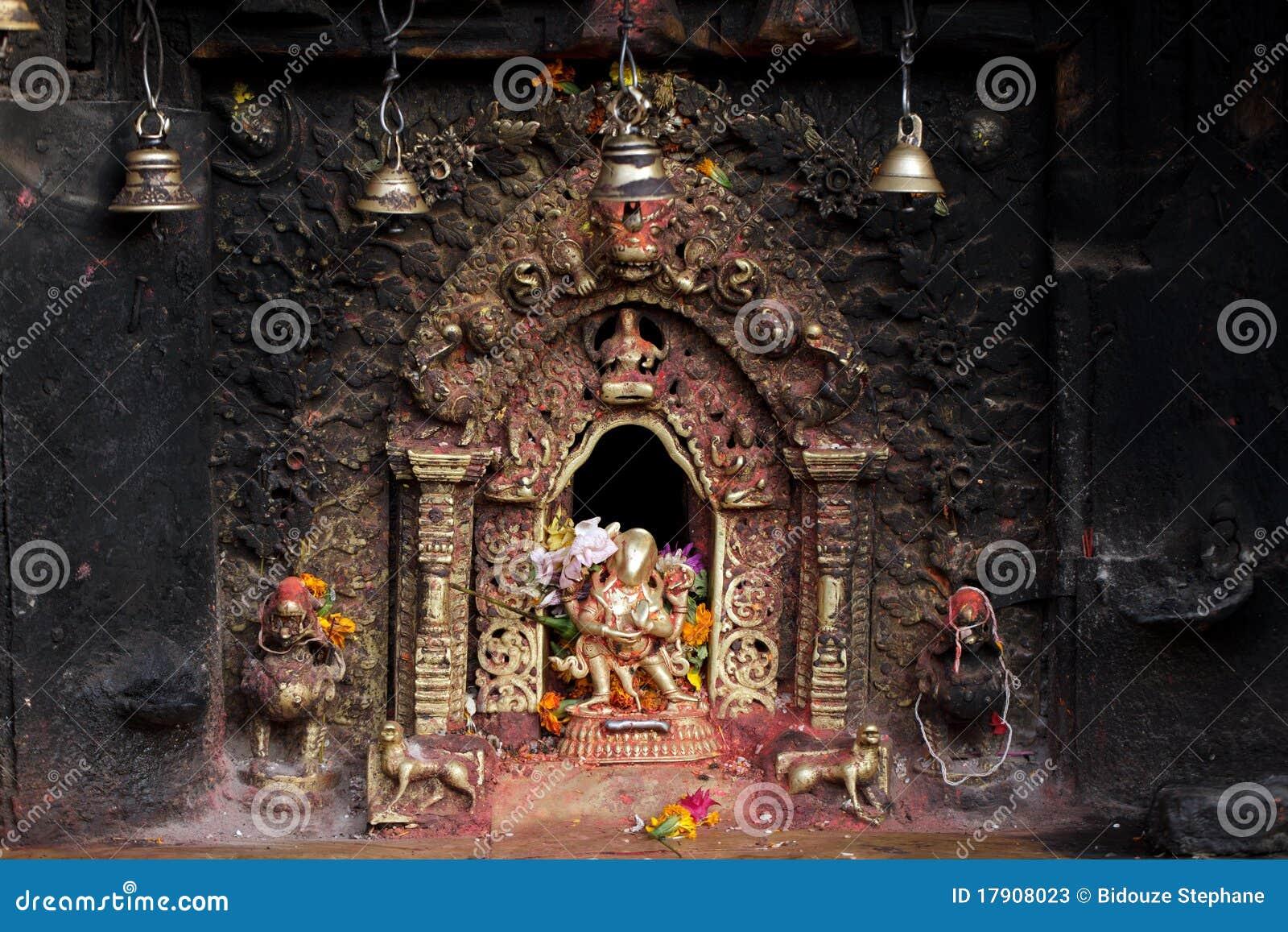 Altar sagrado Hindu