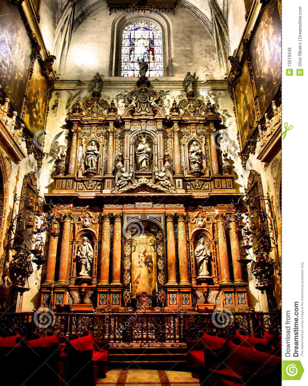 Altar of Seville cathedral