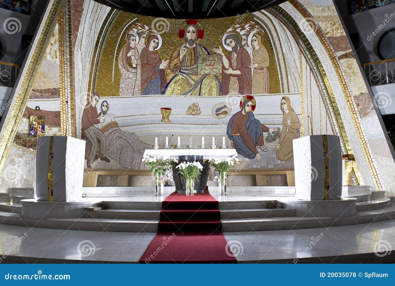 Altare della chiesa