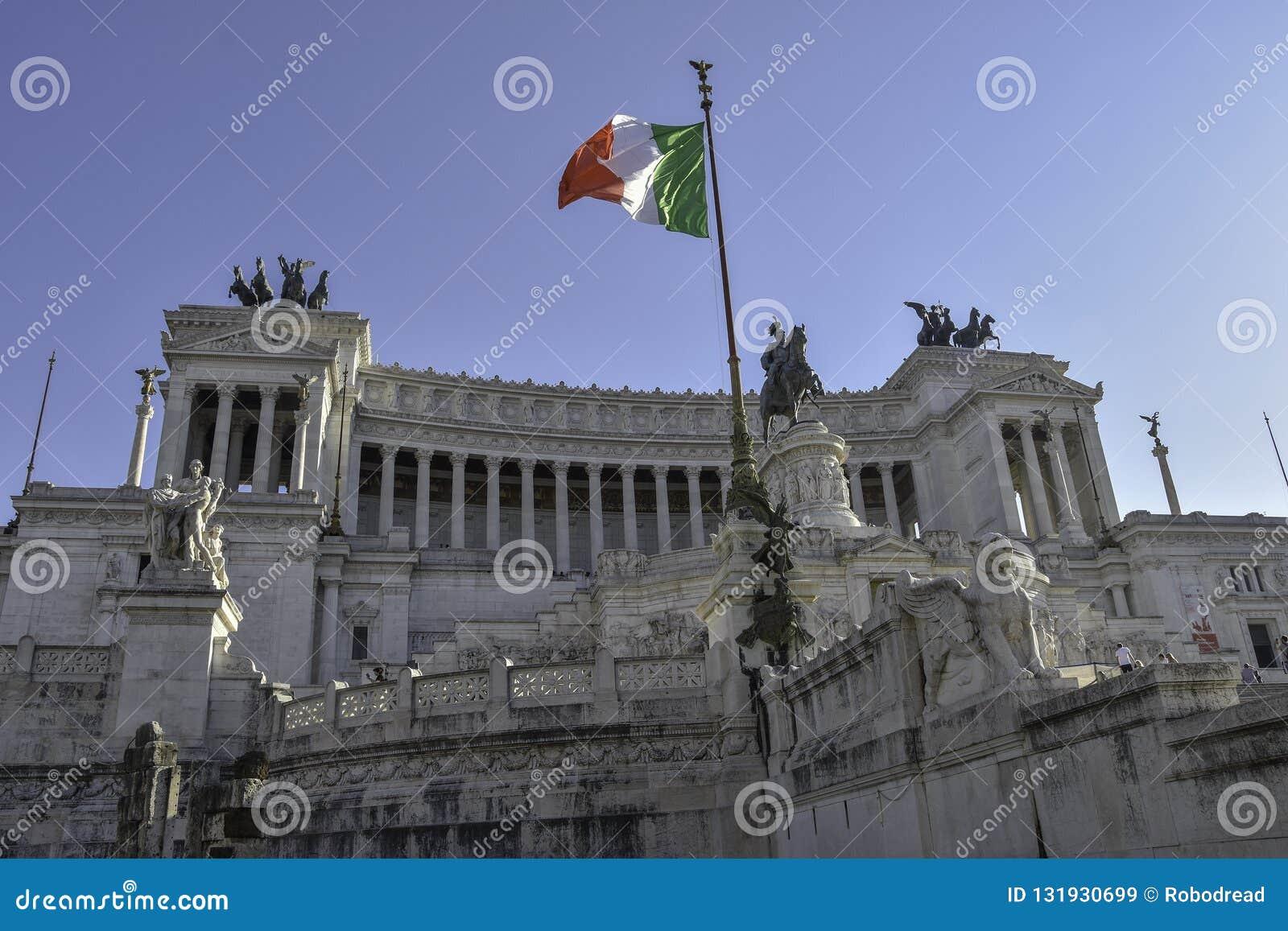 Altare della Patria, nationell monument till Vittorio Emanuele II