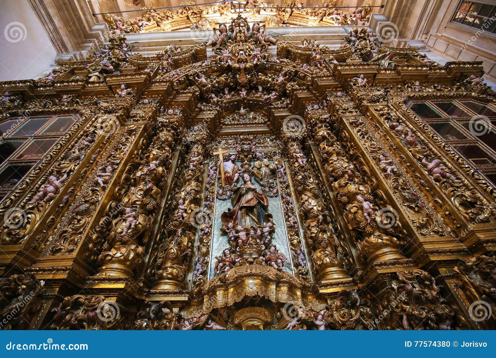 Altarpiece в новом соборе Коимбры