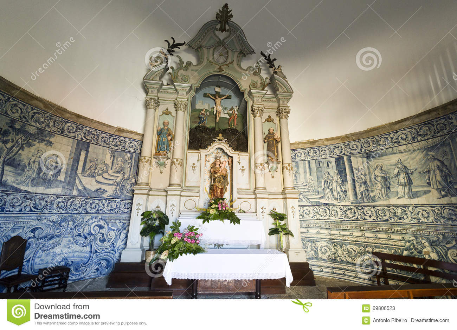 Altarpiece часовни хорошей помощи