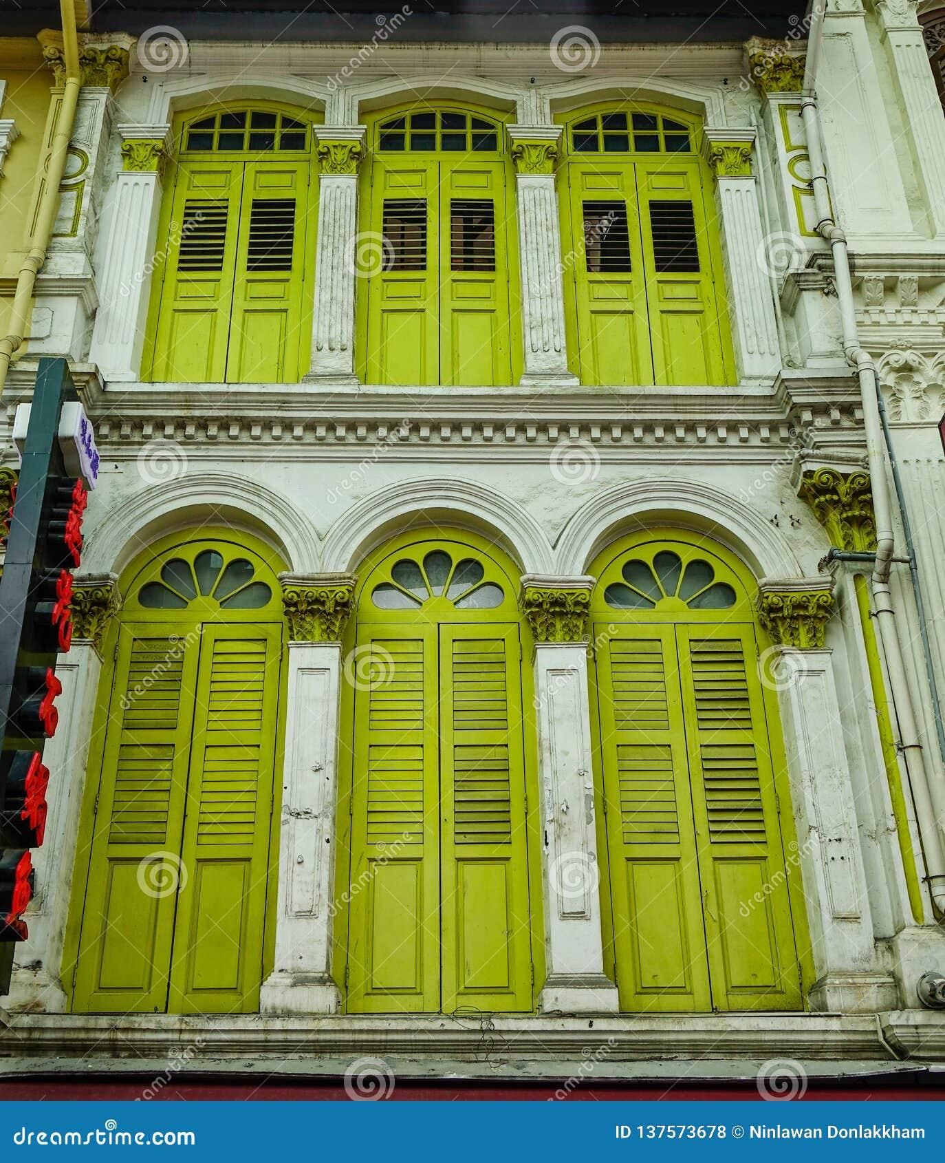Altbauten in Chinatown, Singapur