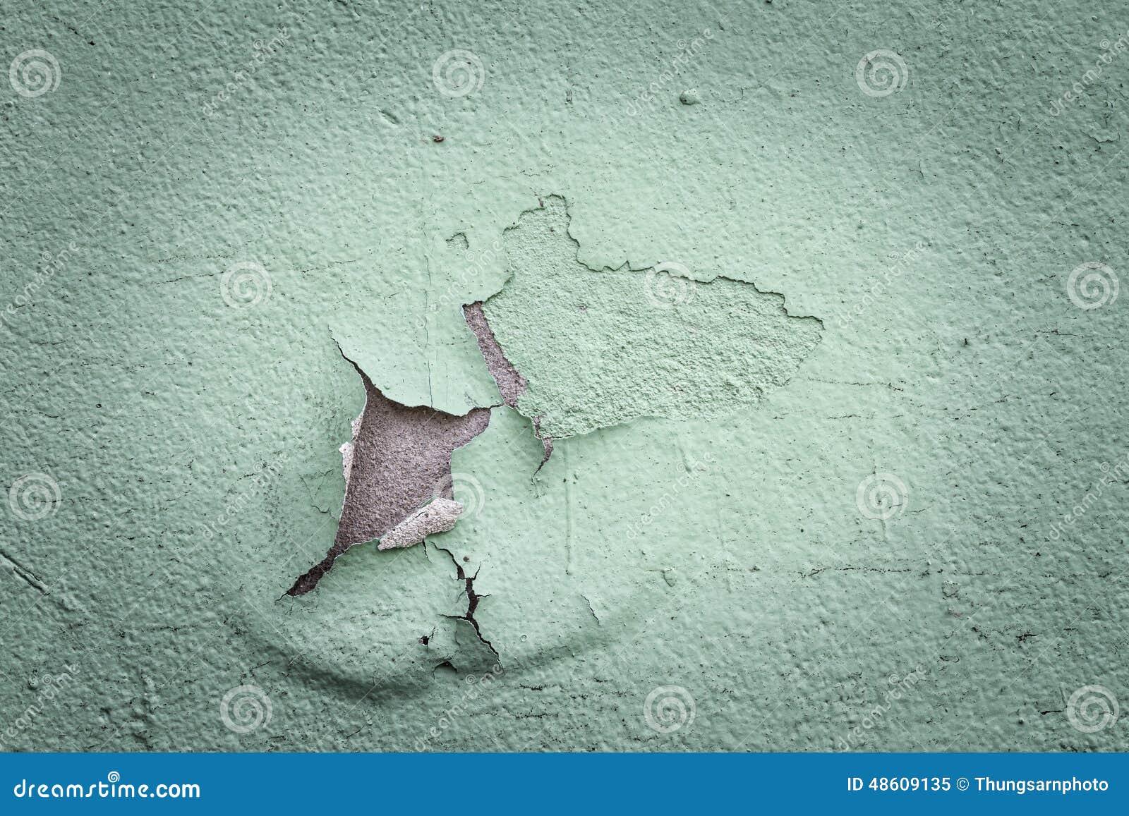 Alte Abblätternde Farbe Auf Einer Wand In Der Weinlese ...