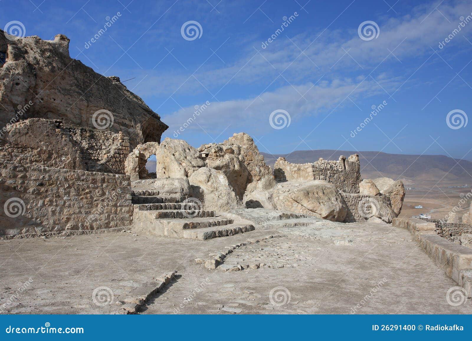 Alte archäologische Fundstätte in der kurdischen Region