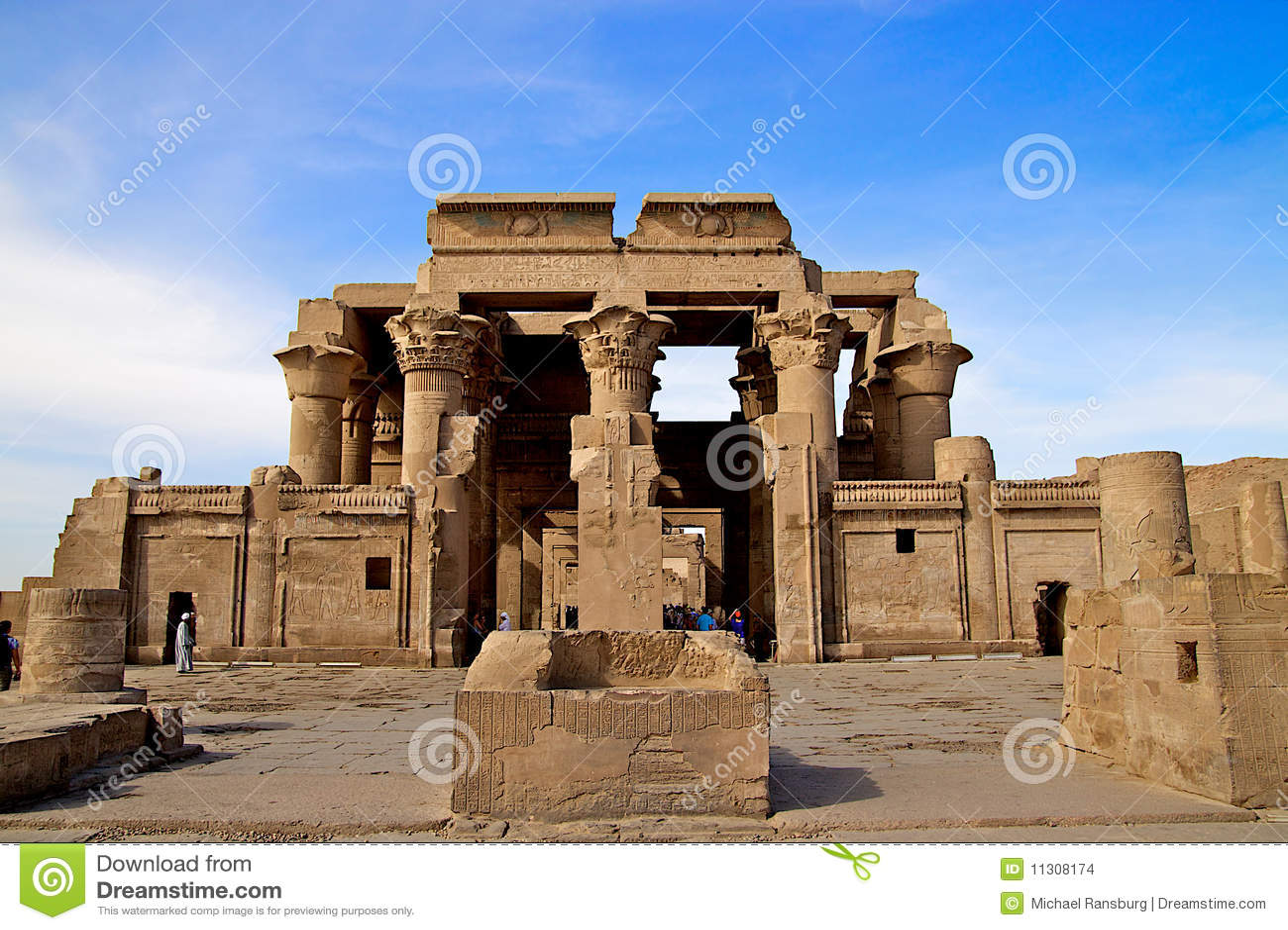 Alte Architektur in Ägypten