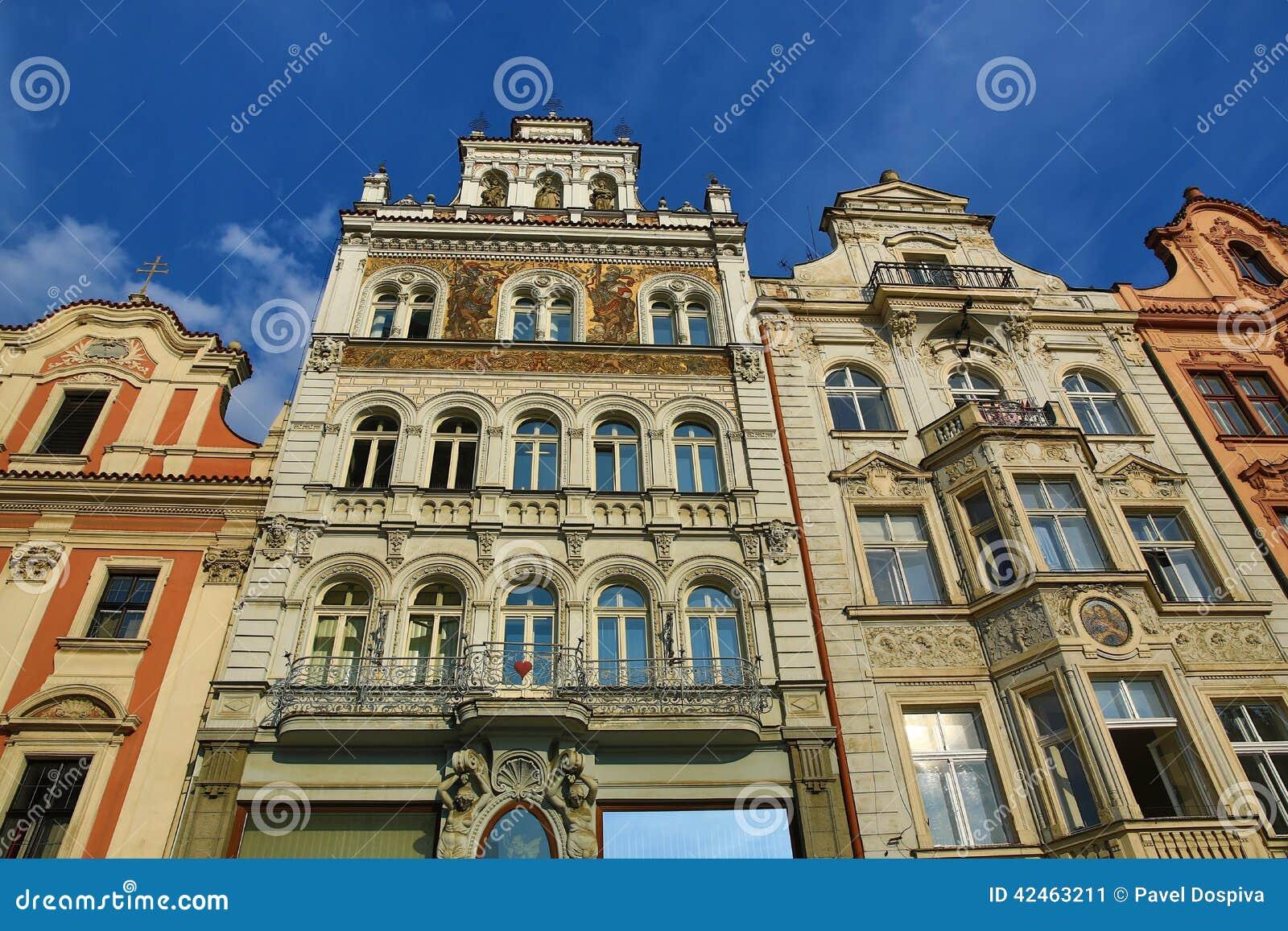 Alte Architektur, Pilsen, Tschechische Republik