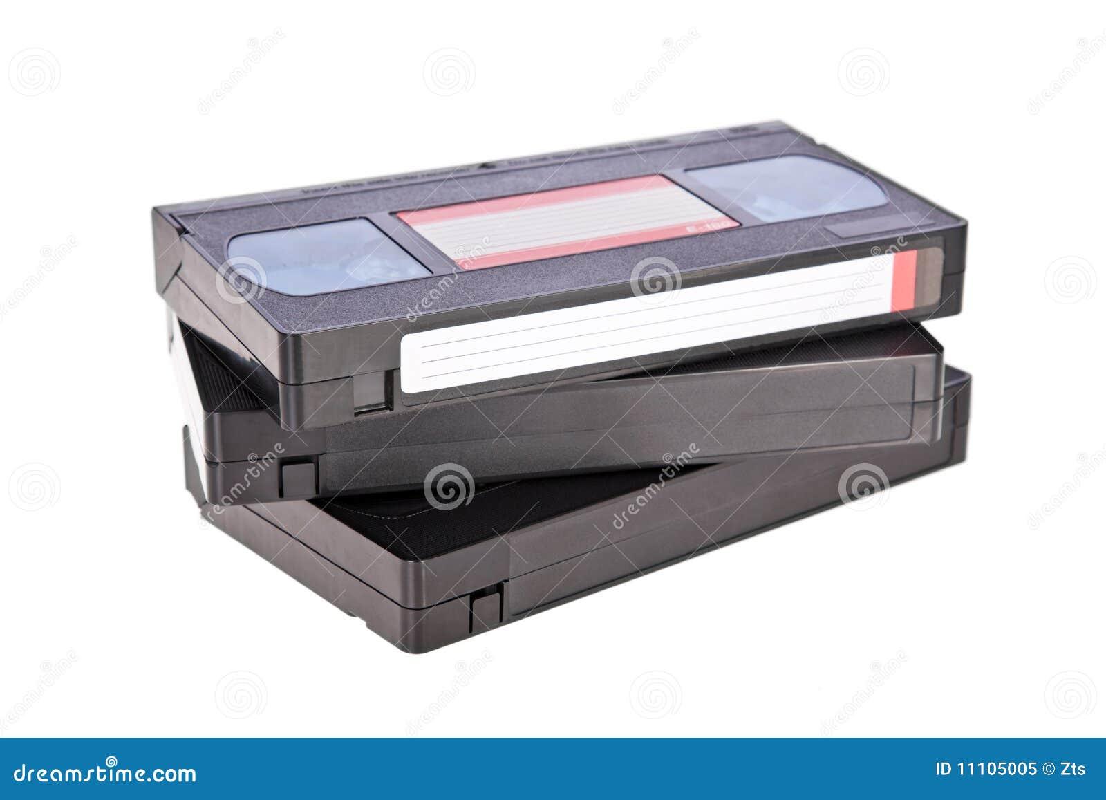 Alte Bänder der videokassette