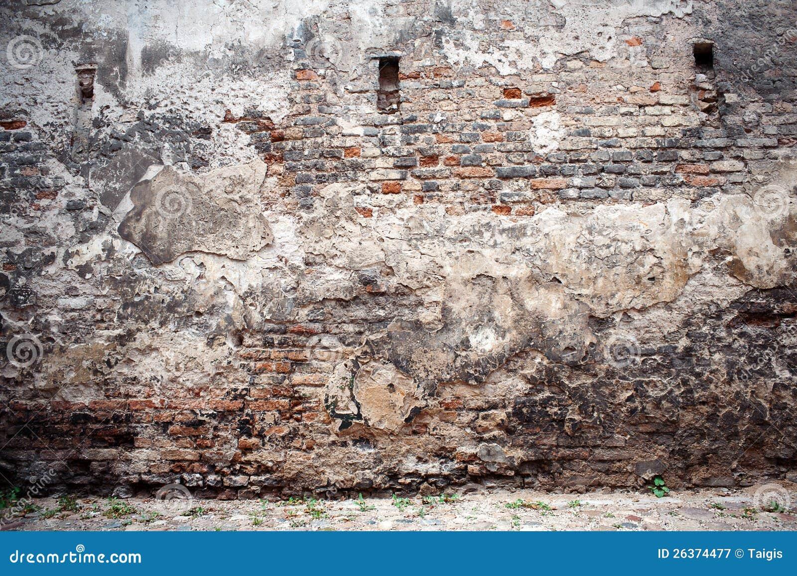 Alte Backsteinmauer