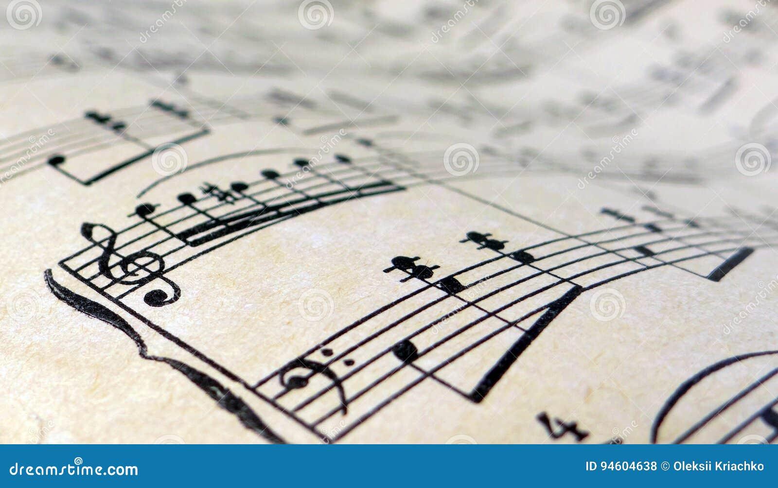 Alte Blatt-Musik