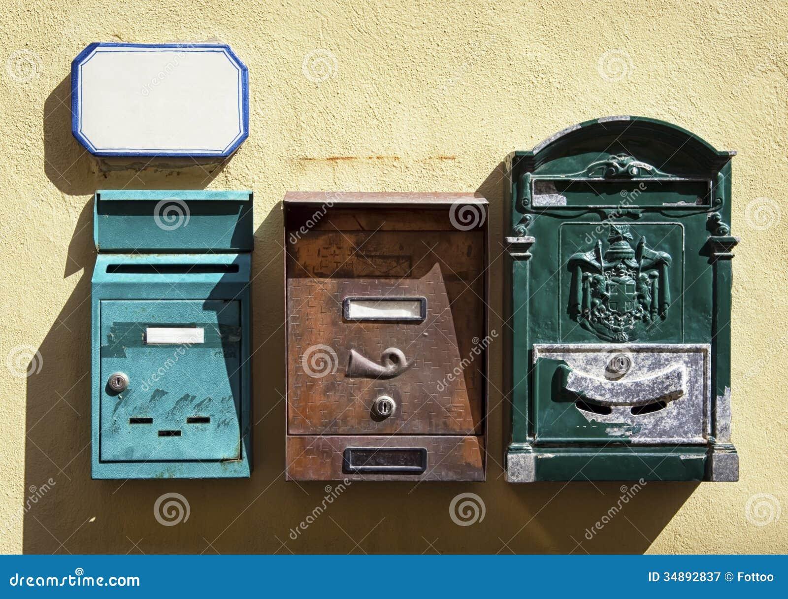 alte briefk sten lizenzfreie stockfotografie bild 34892837. Black Bedroom Furniture Sets. Home Design Ideas