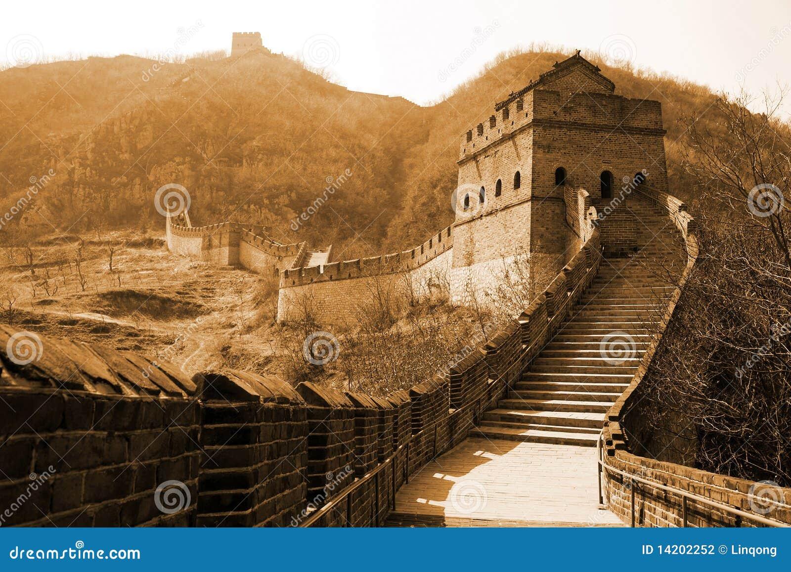 Alte Chinesische Mauer von China