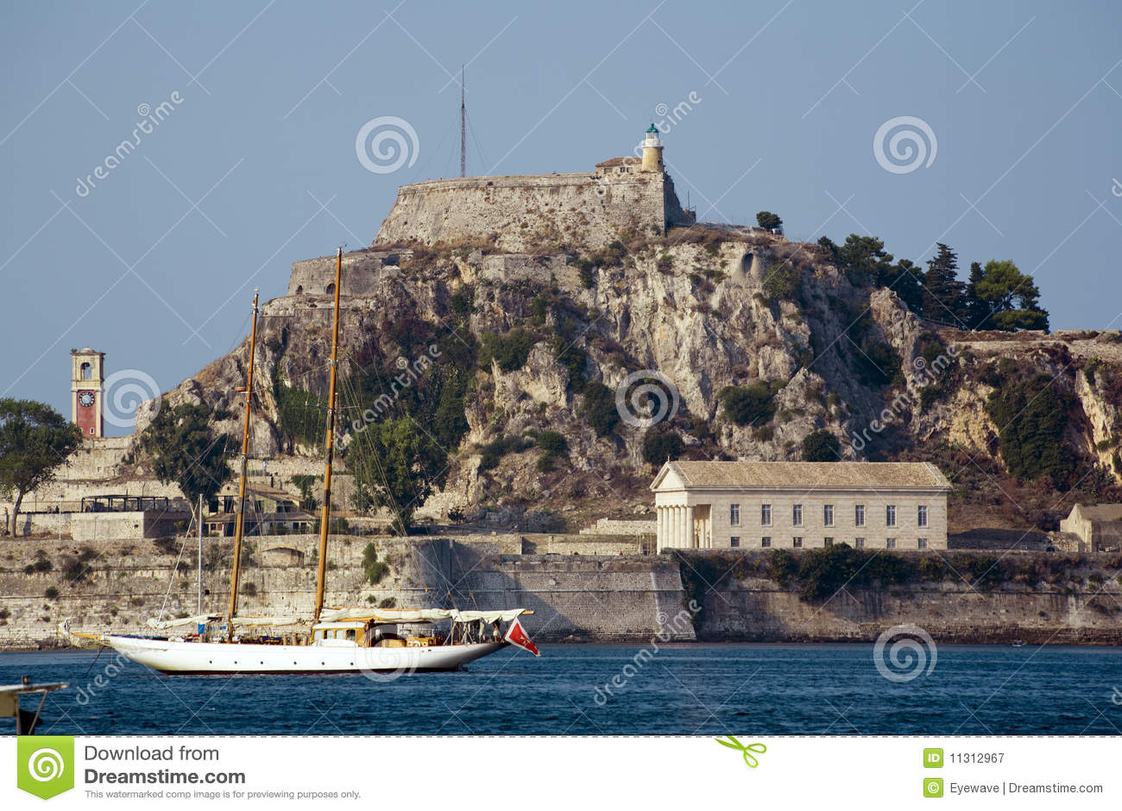Alte Festung in Korfu
