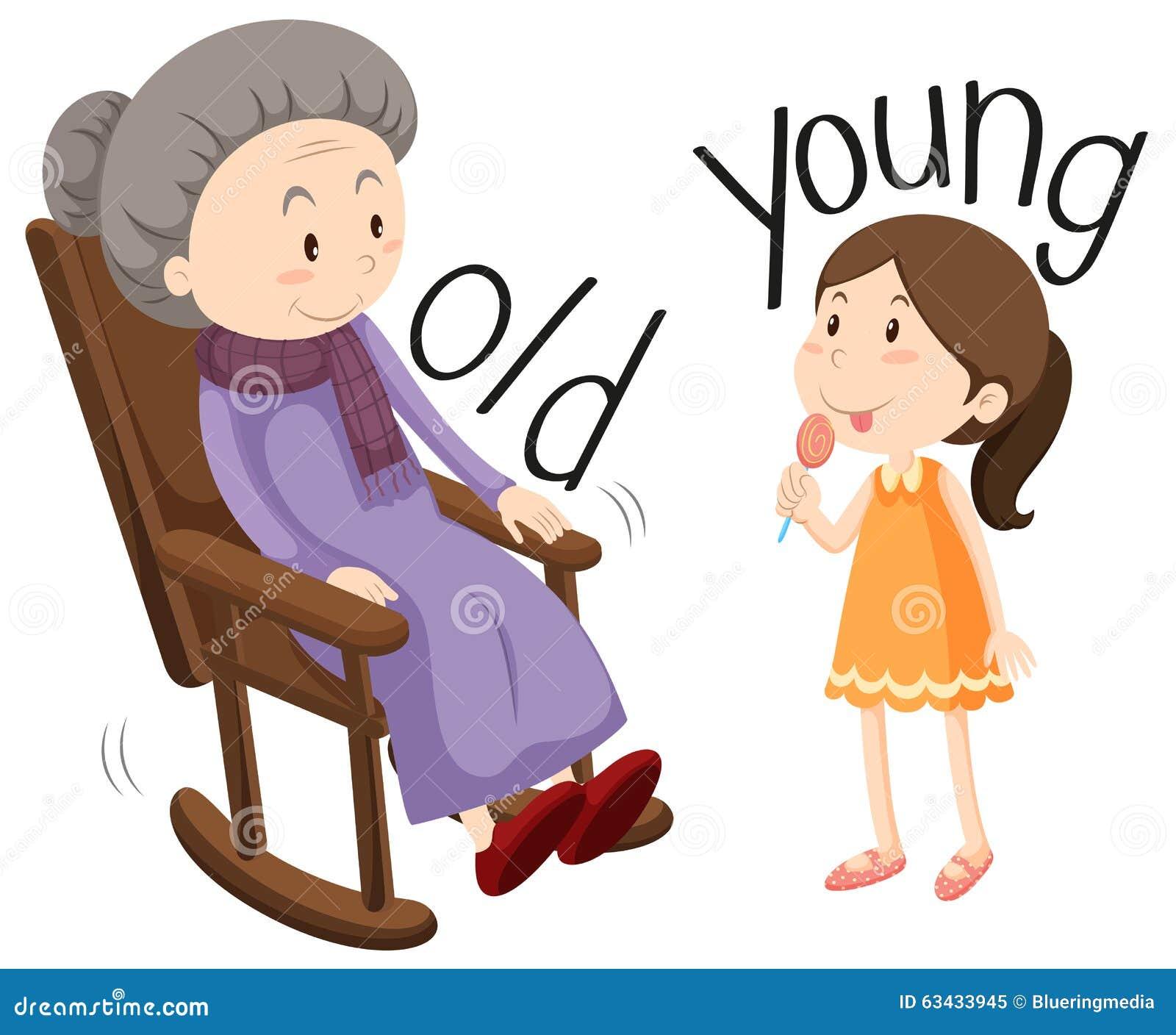 Ältere Frau Junge Frau
