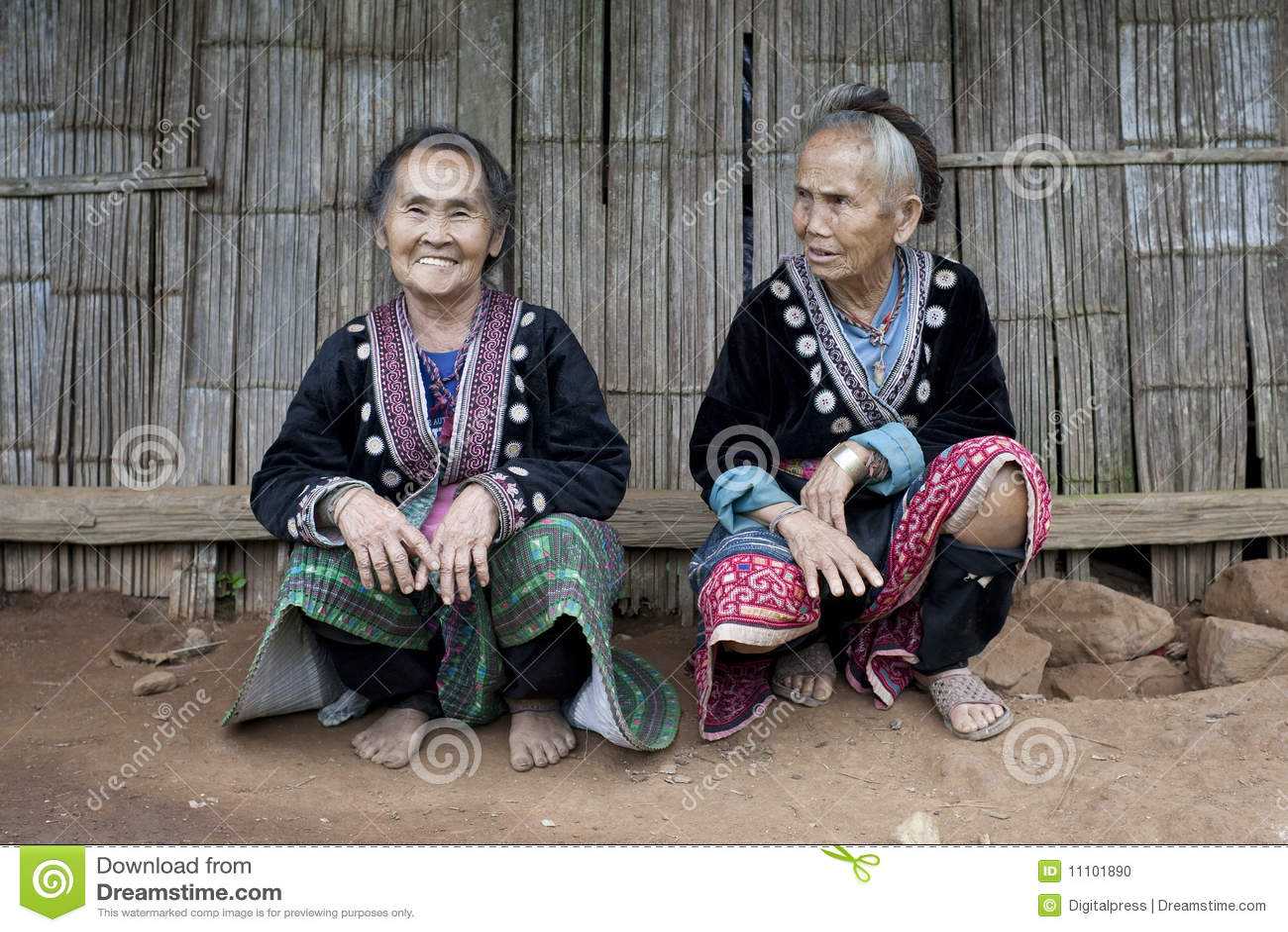 Ethnische Gruppen von asiatischen Frauen