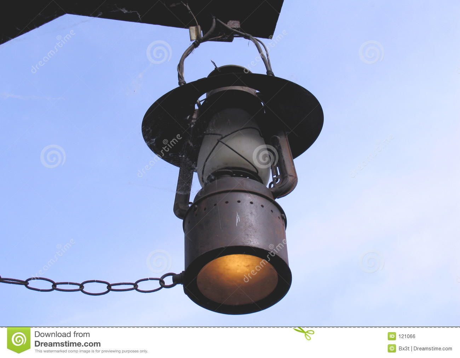 alte gas lampe lizenzfreies stockbild bild 121066. Black Bedroom Furniture Sets. Home Design Ideas