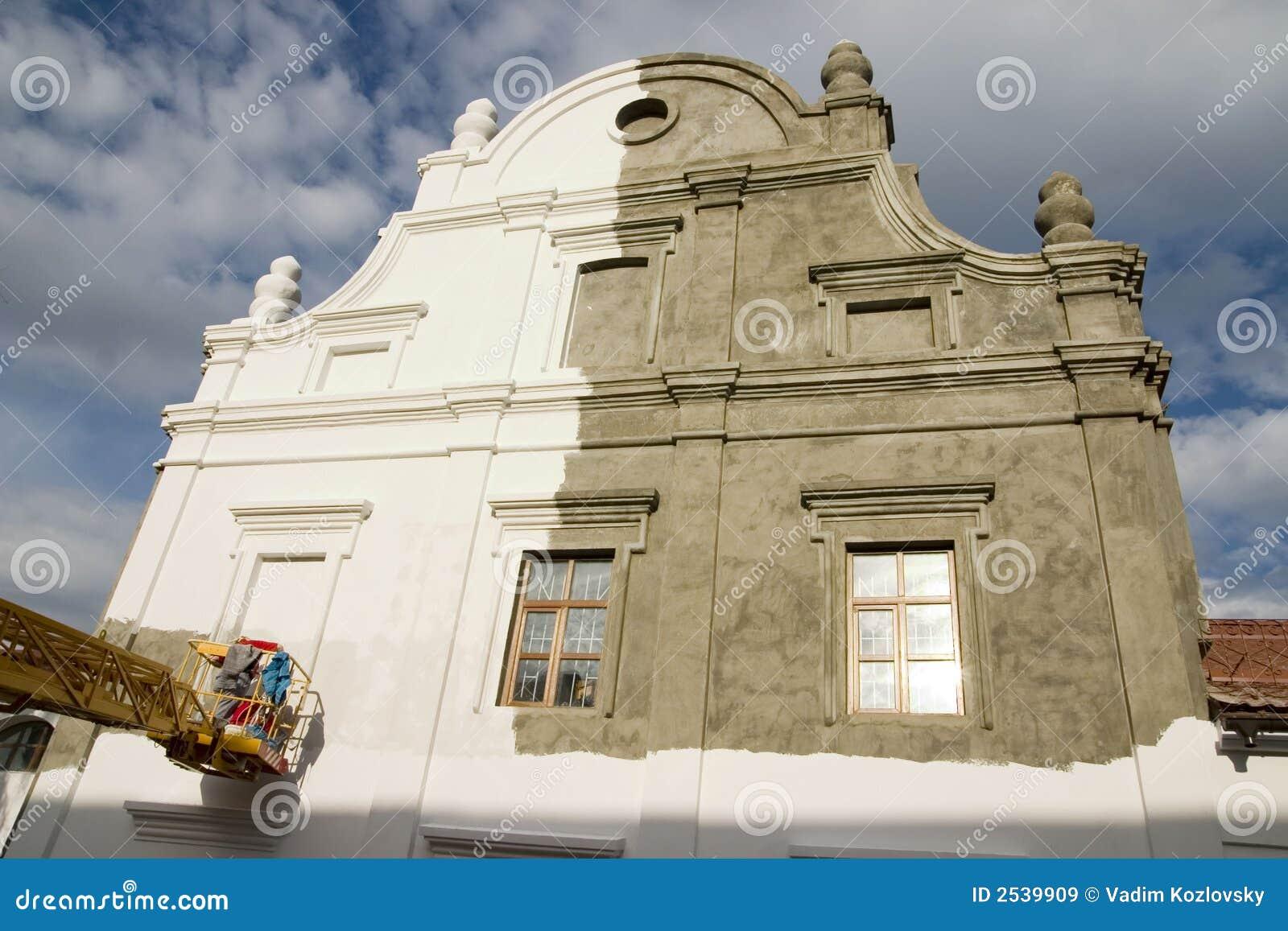 Alte Gebäudeerneuerung