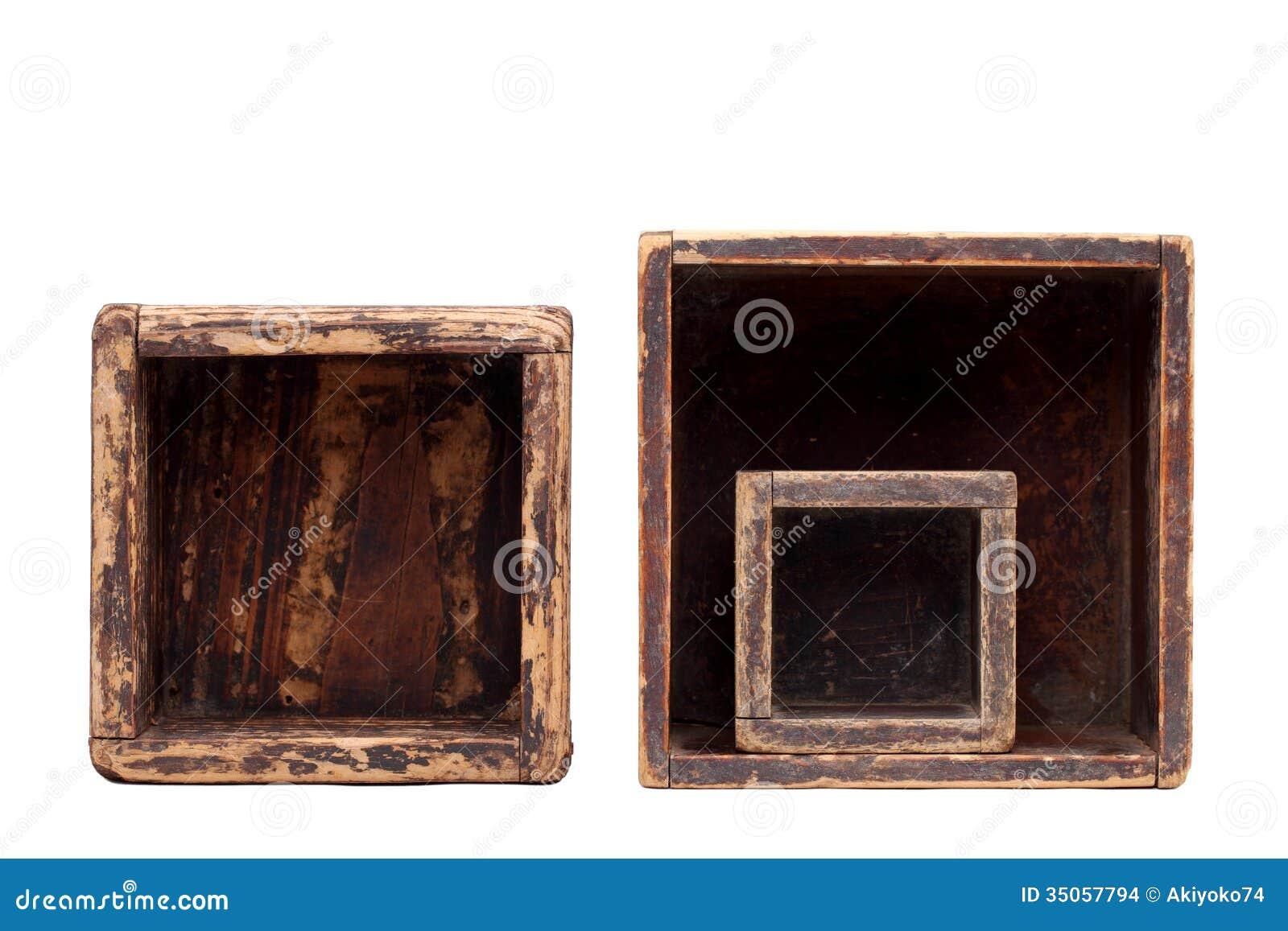 alte holzkisten stockbilder bild 35057794. Black Bedroom Furniture Sets. Home Design Ideas